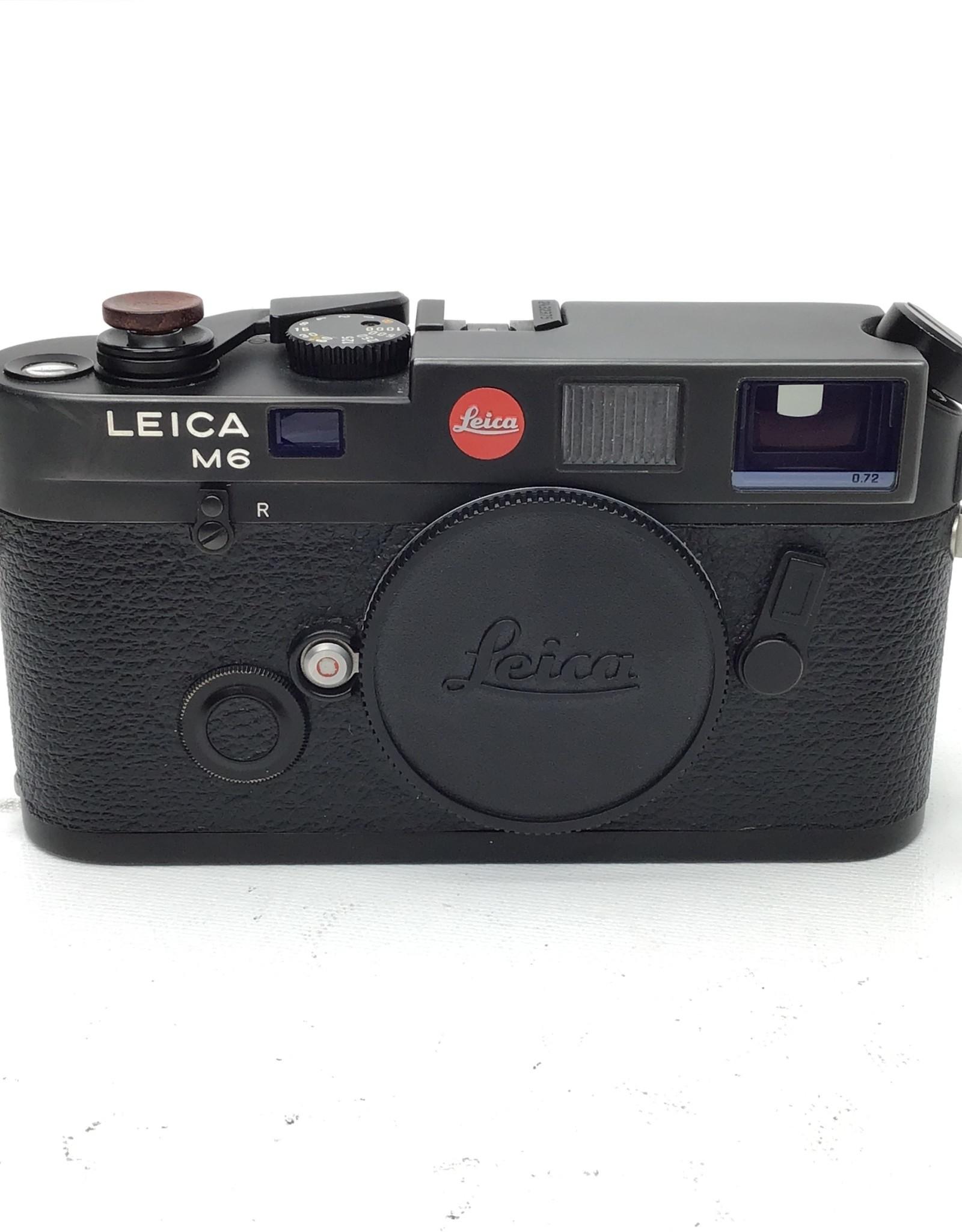 Leica Leica M6 Black 0.72 Camera Body Good