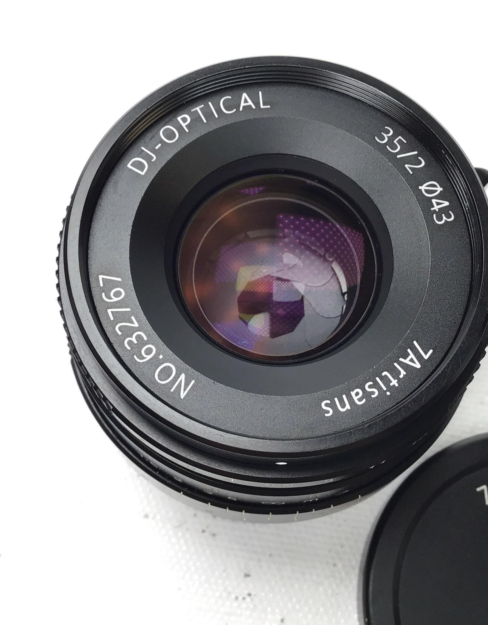 7artisans 7artisans 35 f2 DJ Optical for Leica M in Box Used EX