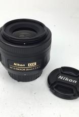 NIKON Nikon AF-S Nikkor 35mm f1.8G DX Lens Used EX