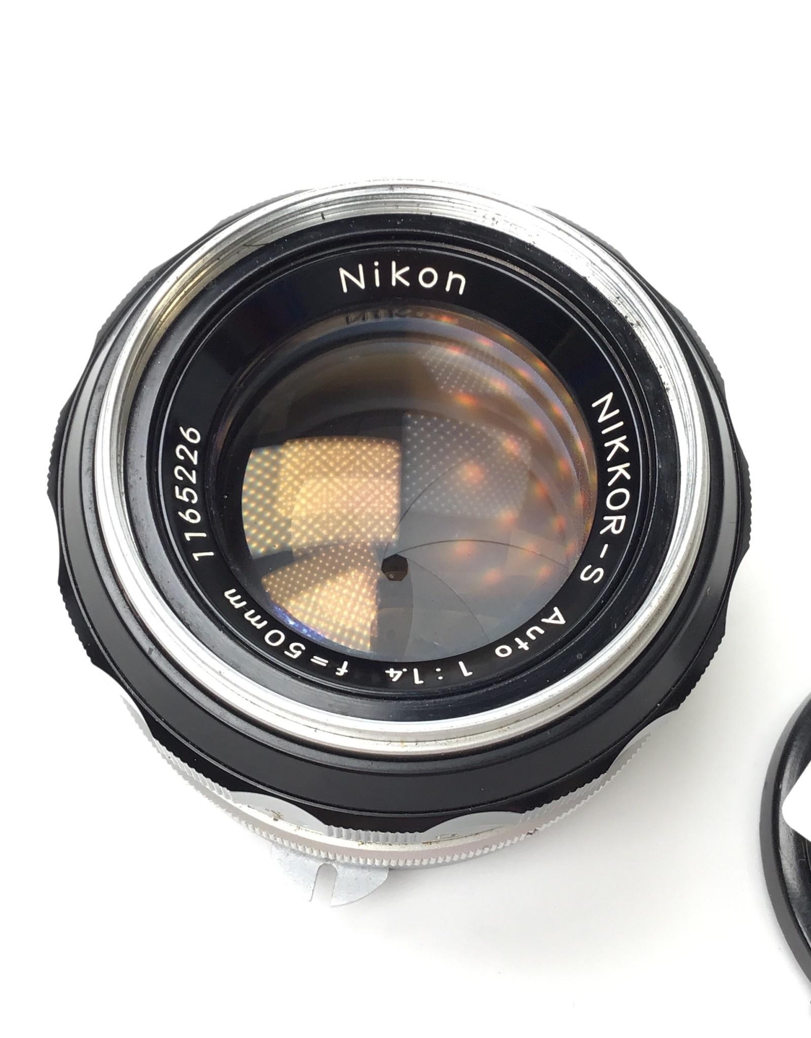 NIKON Nikon Nikkor-S 50mm f1.4 Non AI Lens Used Good