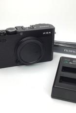 FUJI Fuji X-E4 Black Camera Body Used EX