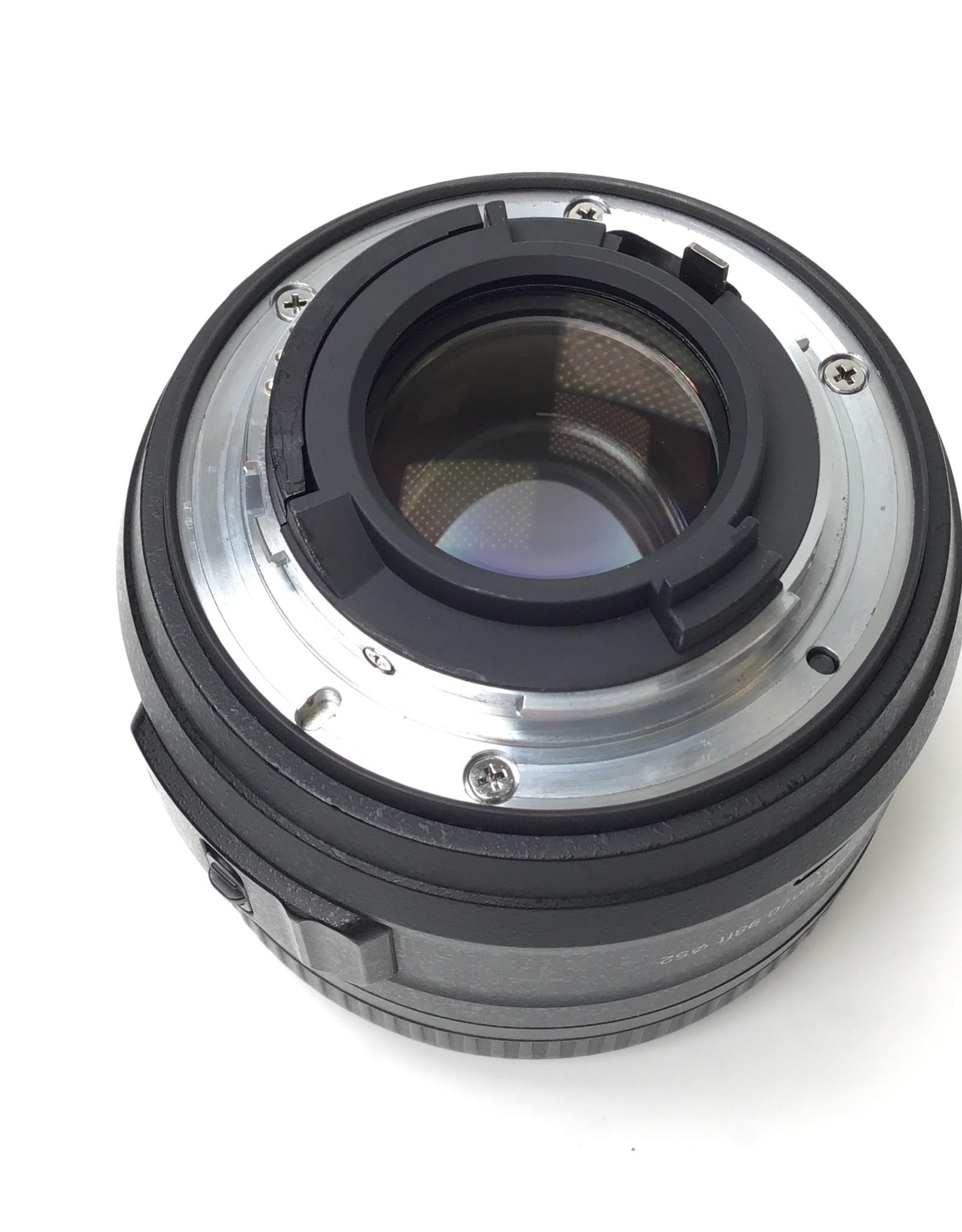 NIKON Nikon AF-S Nikkor 35mm f1.8 G DX Lens w/ Hood Used Good