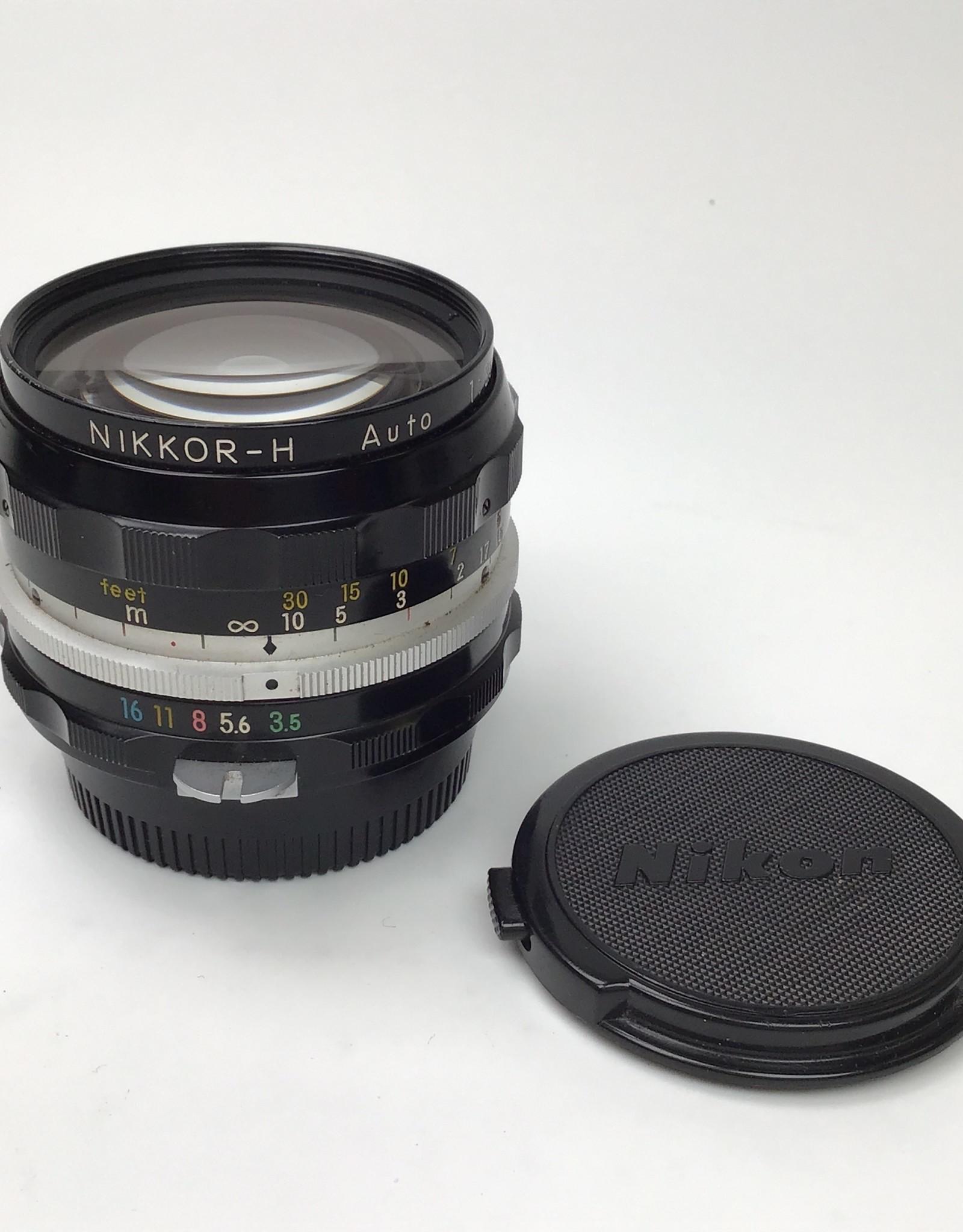 NIKON Nikon Nikkor-H 28mm f3.5 Non AI Lens Used Good