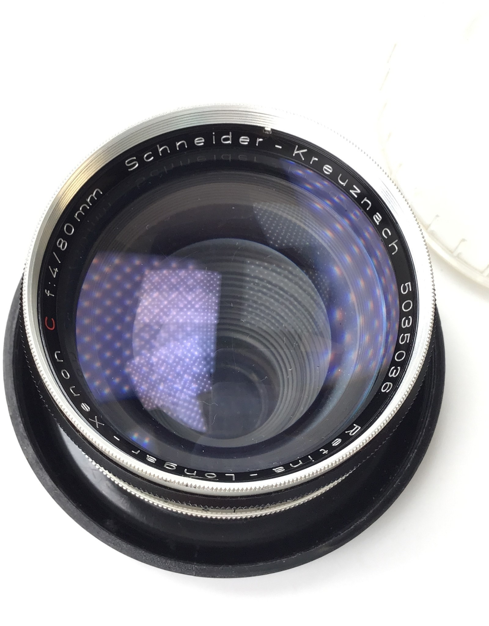 Retina C Schneider Longar-Xenon 80mm f4 Lens Used Good