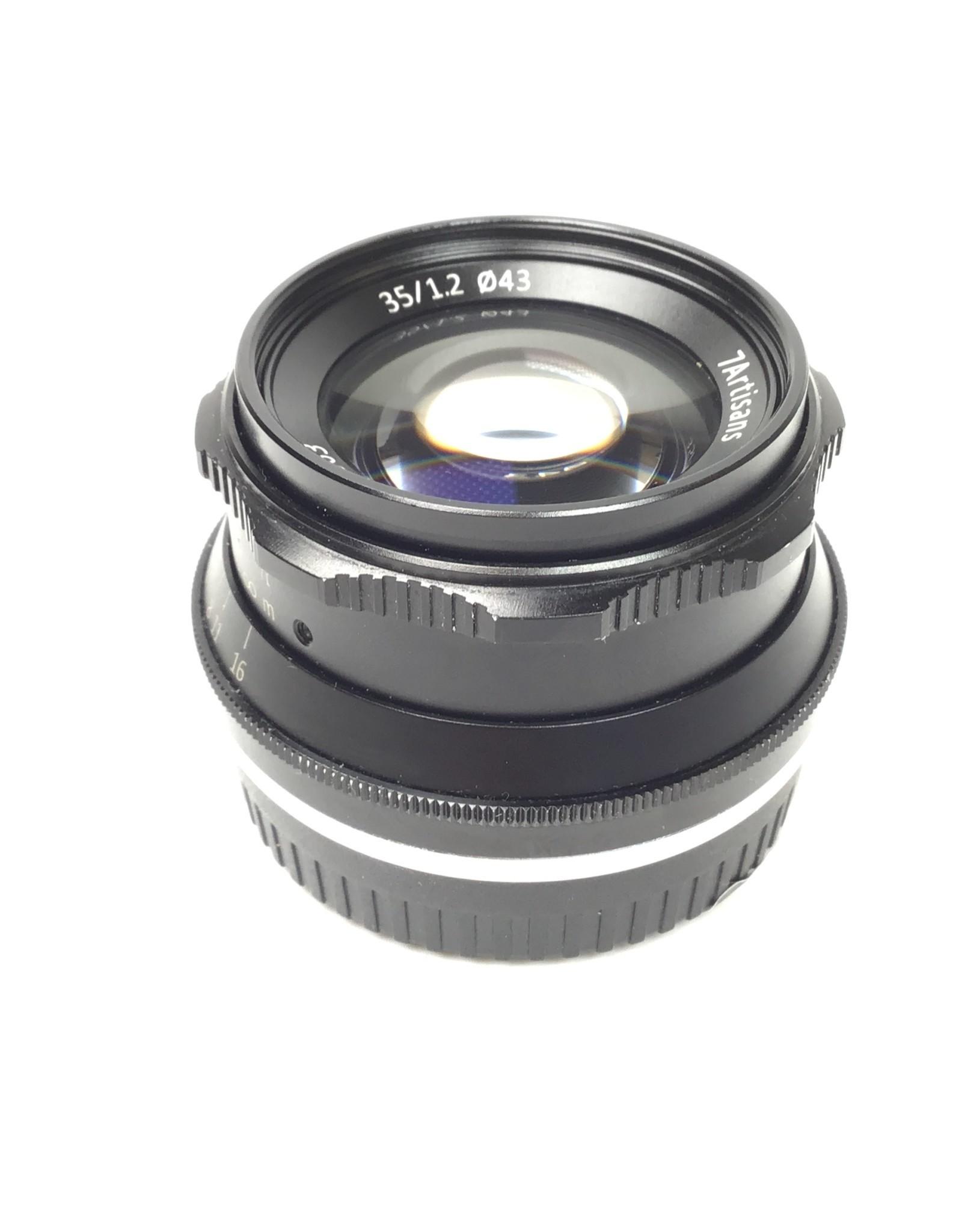 7artisans 7Artisans 35mm f1.2 Lens for Fuji X Used EX