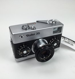Rollei Rollei 35 Singapore Camera No Meter Used Good