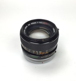 CANON Canon FD 50mm f1.4 SSC Lens Used Good