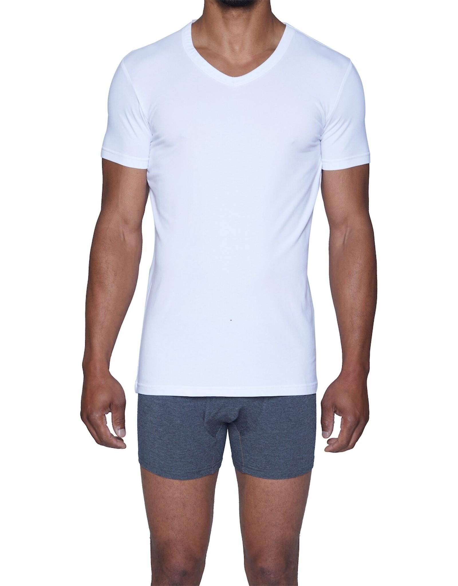 Wood Underwear V Neck Undershirt