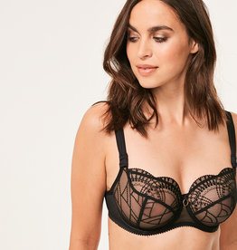 Empreinte Diane underwire low neck bra