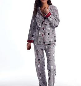 PJ Salvage Time to Wine Down Pajama Set