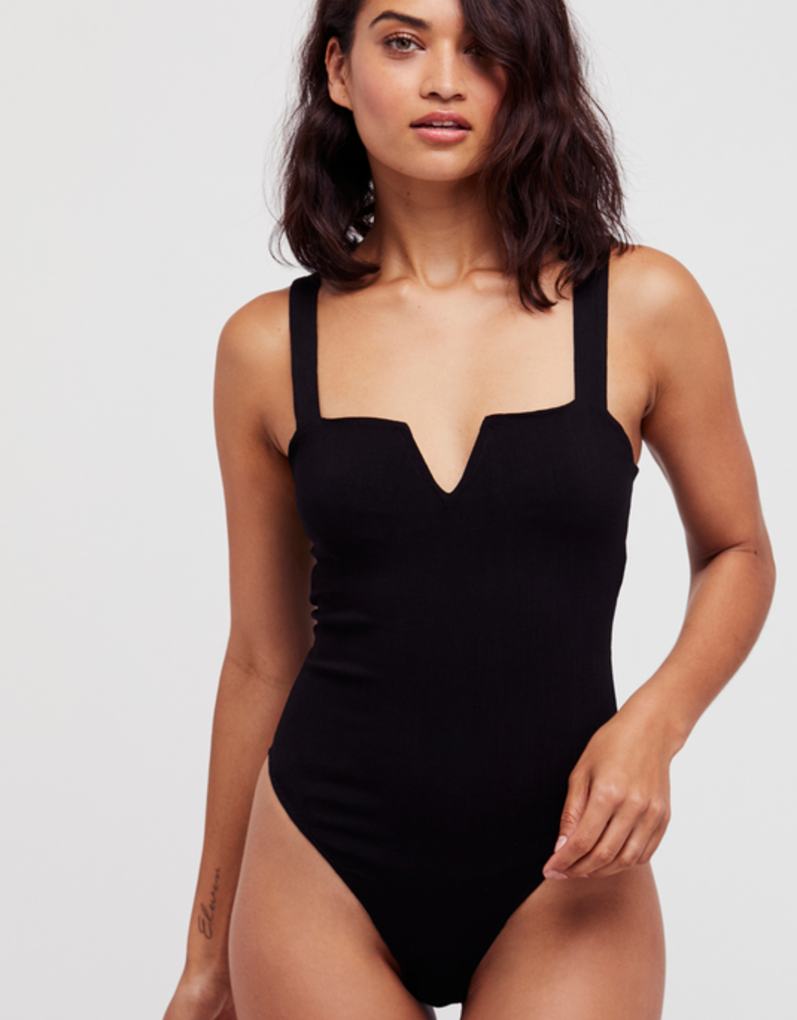 Free People Pippa V Body Suit