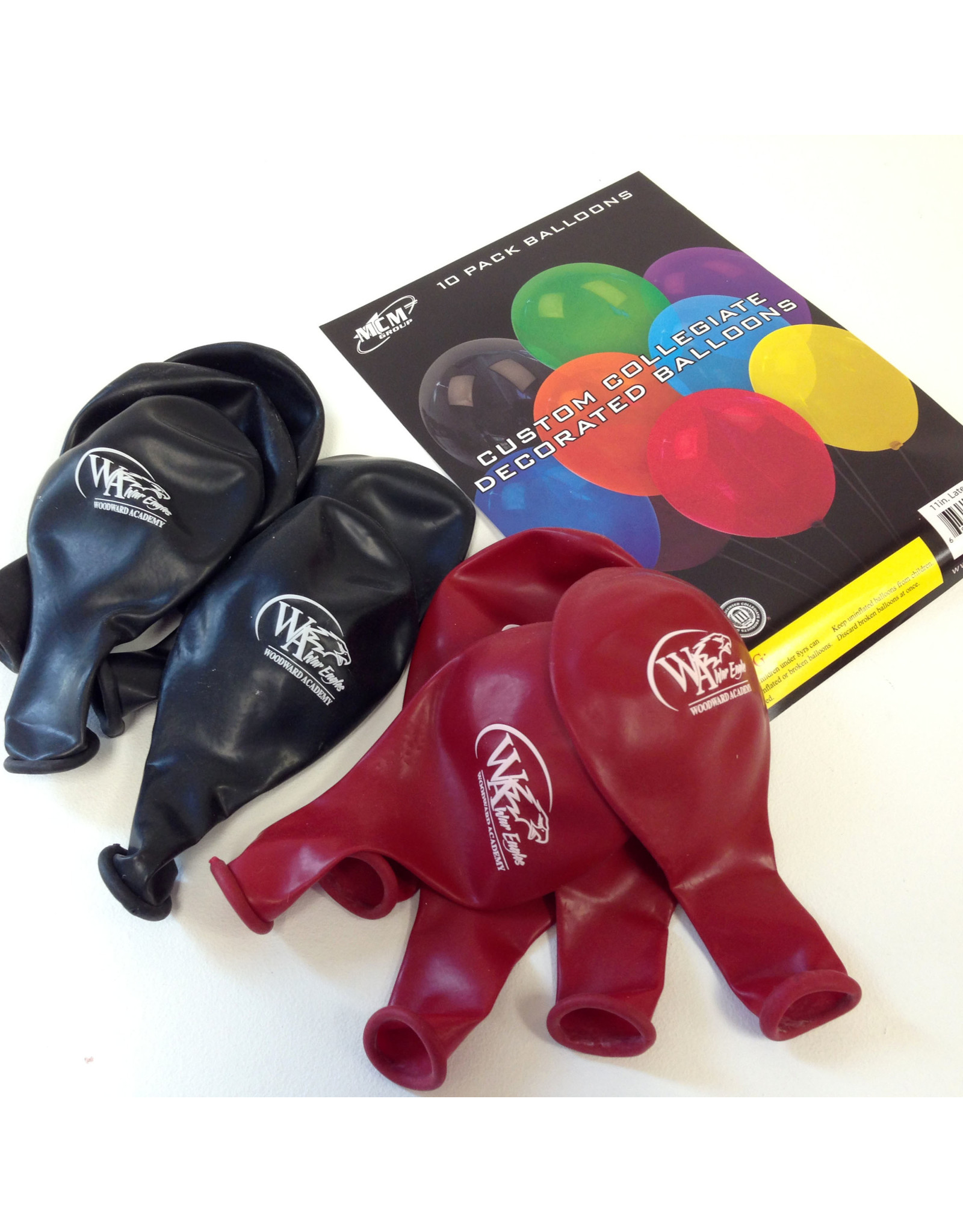 Balloons (Pack of 5 Red/5 Black)