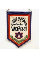 Magnolia Lane Banner - Auburn Flag/Door Hanger by Magnolia Lane