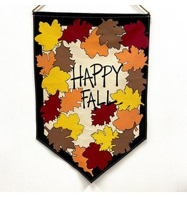 "Magnolia Lane SALE Banner - ""Happy Fall"" Flag/Door Hanger by Magnolia Lane"