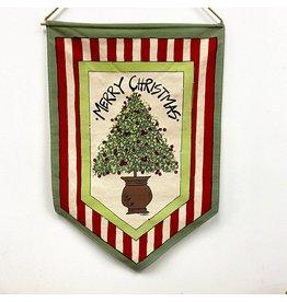 "Magnolia Lane Banner - ""Merry Christmas""  Flag/Door Hanger by Magnolia Lane"