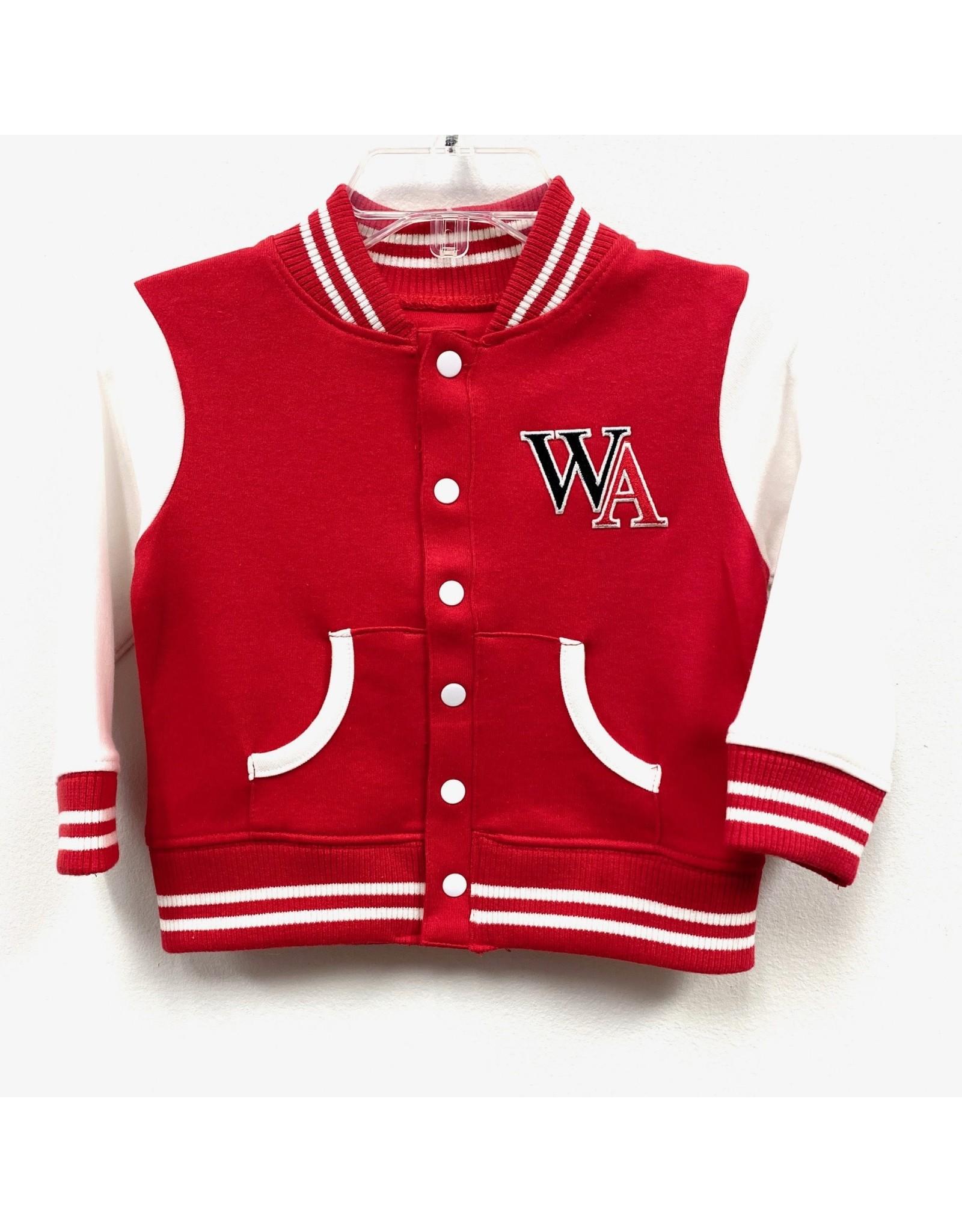 Creative Knitwear Baby Varsity Jacket by Creative Knitwear