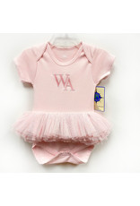 The Game Baby Pink Tutu Bodysuit by Creative Knitwear