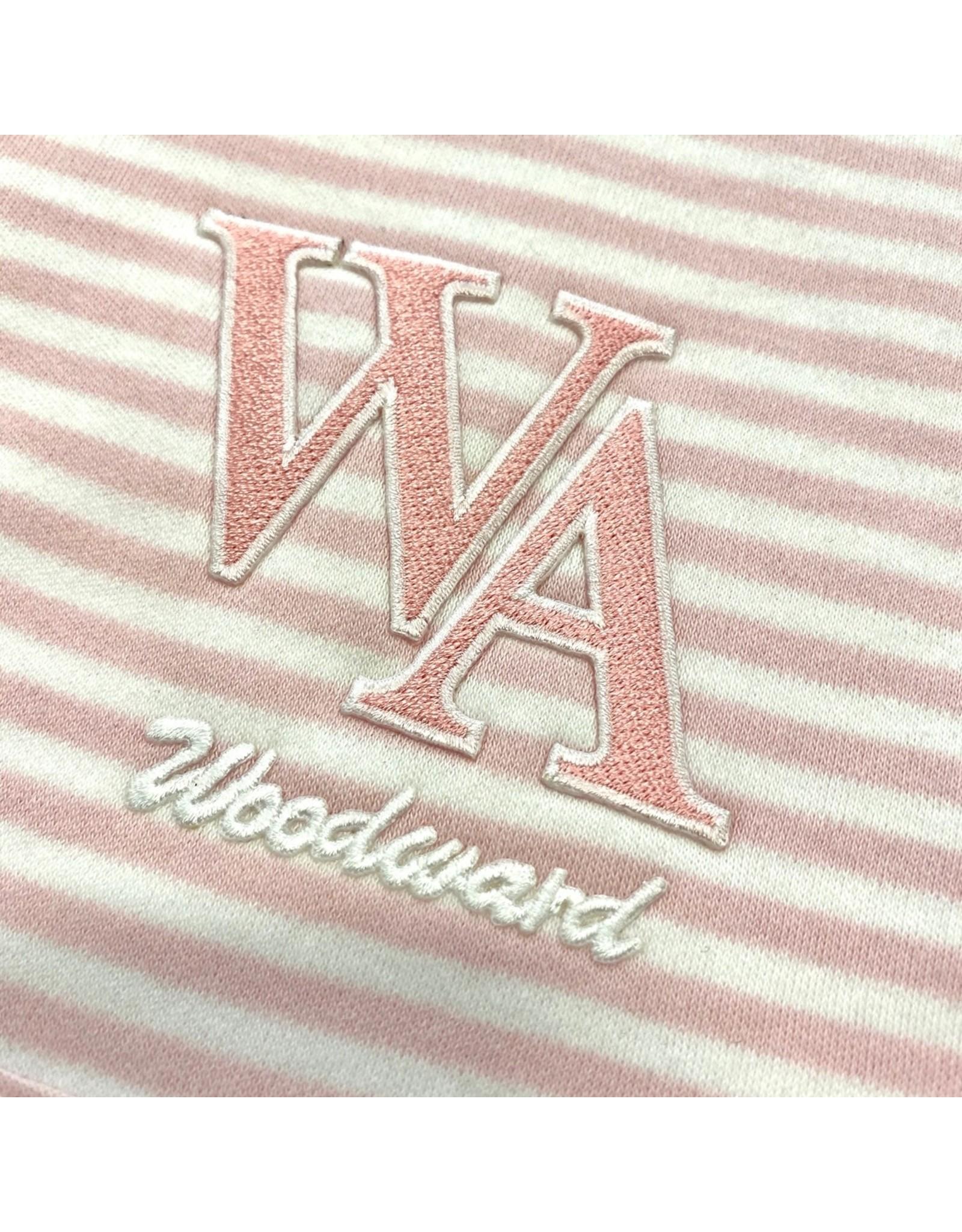 Creative Knitwear Baby Stripe Burp Pad by Creative Knitwear