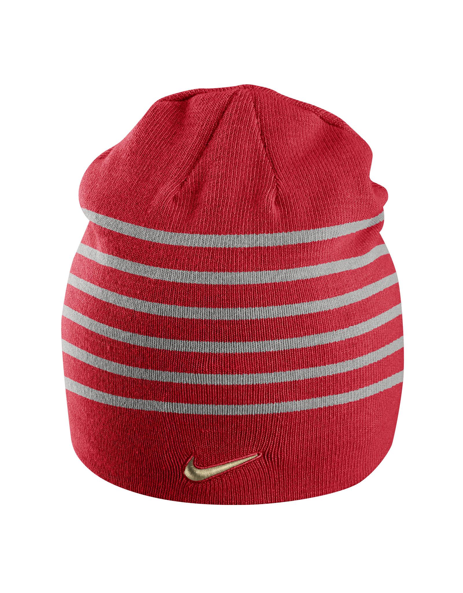 NIKE CAP Swoosh Stripe Beanie by NIKE