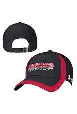 UnderArmour CAP Black/Red Adjustable Rip Stop by UnderArmour