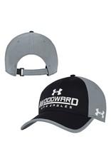 UnderArmour CAP Black/Steel Adjustable Vent by UnderArmour