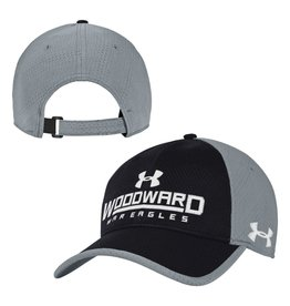 UnderArmour CAP Black/Steel Adjustable Vent by UnderArmour