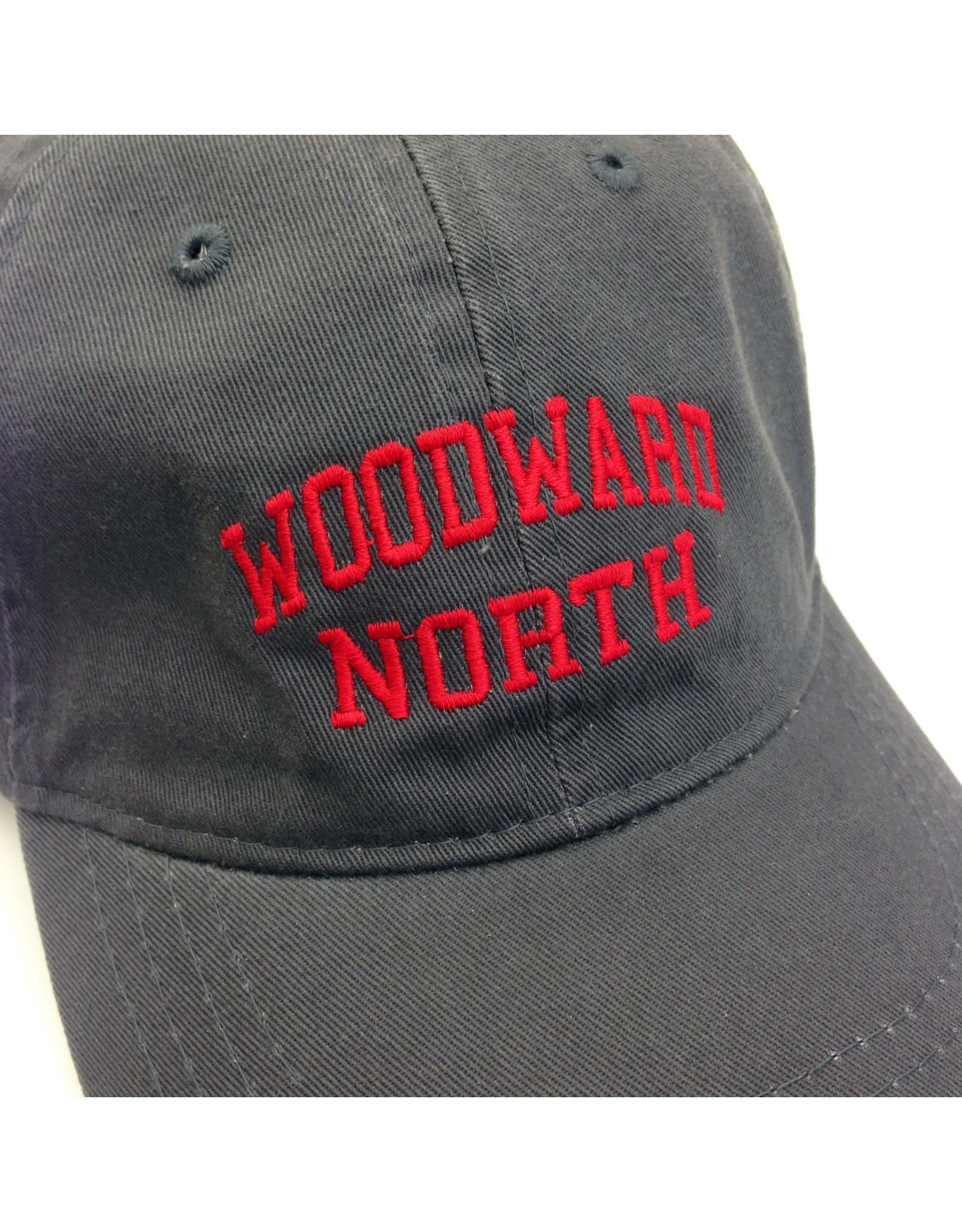 CAP Woodward North Adjustable Grey Cotton Twill