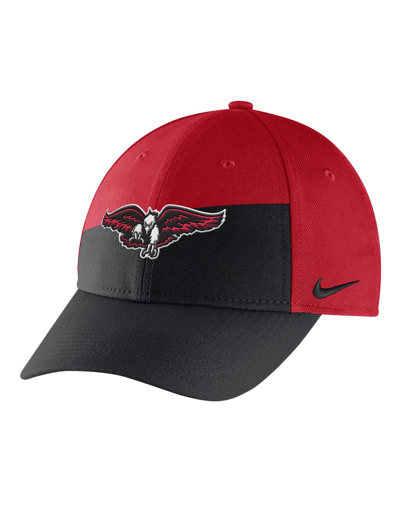 NIKE CAP Youth Swoosh Flex Black/Red Eagle by NIKE