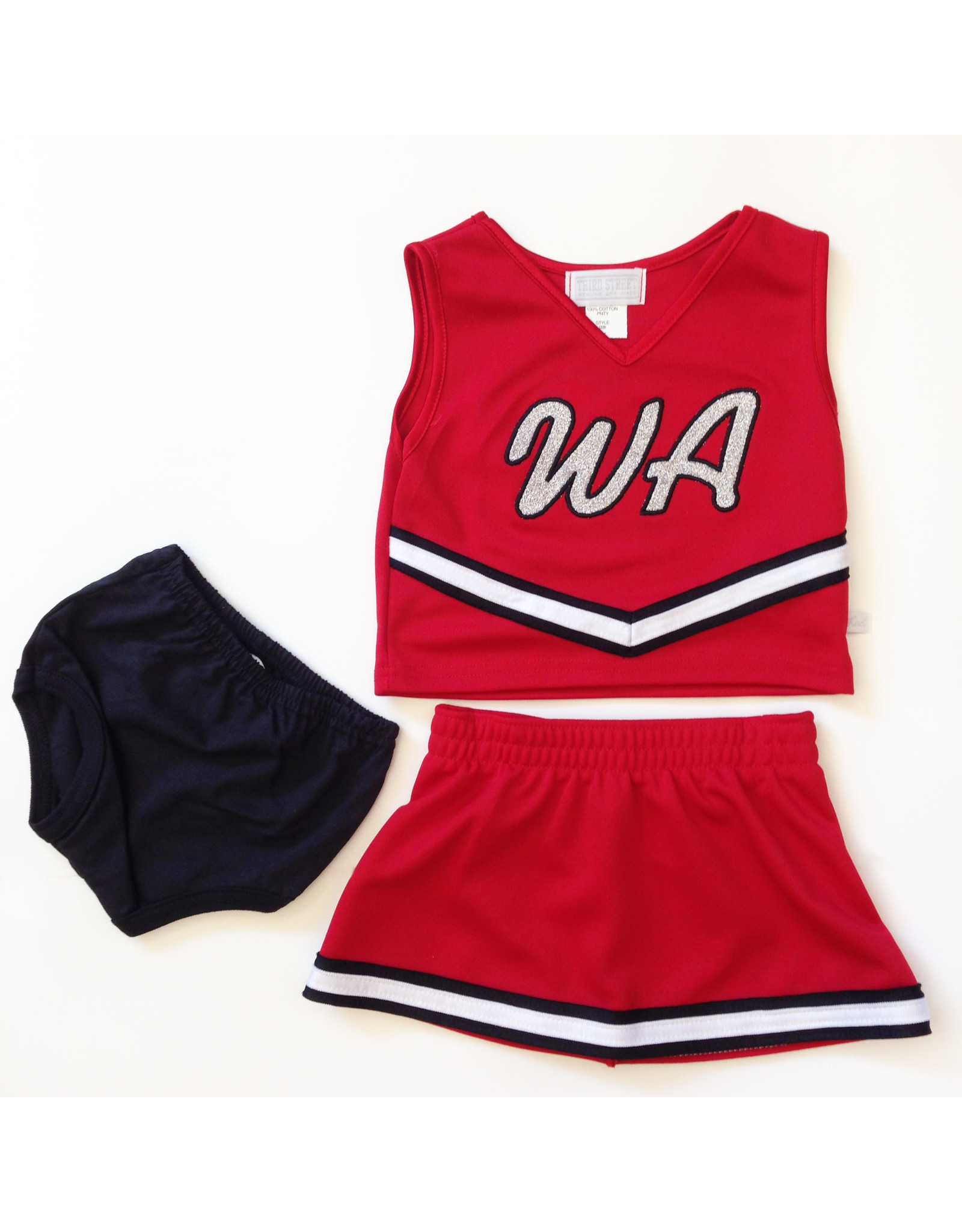 Third Street Youth WA Sparkle Cheer 3-pc Set
