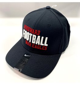 NIKE (SALE) NIKE Football Black Swoosh Flex Cap
