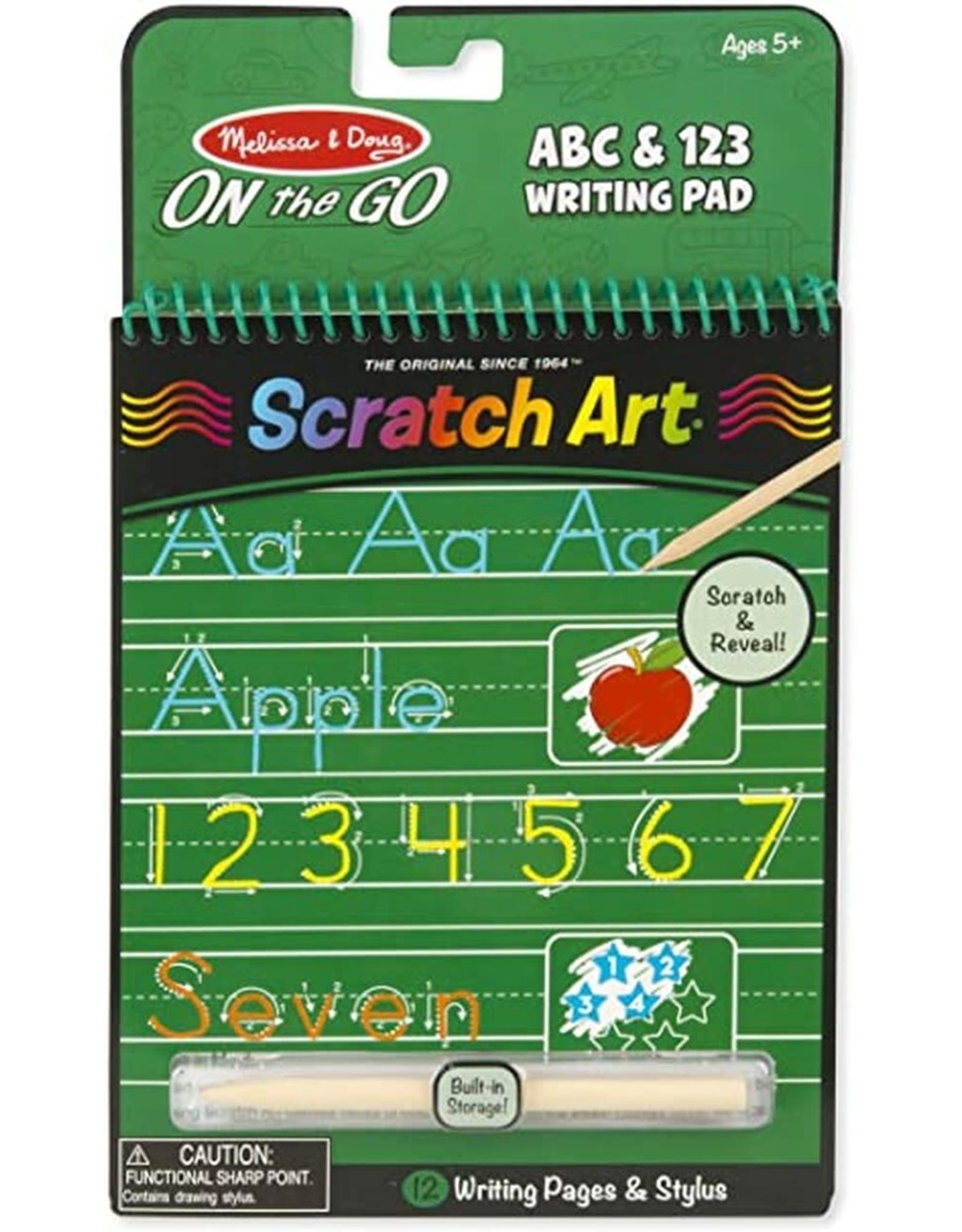 Melissa & Doug M&D - ABC & 123 WRITING PAD #9142