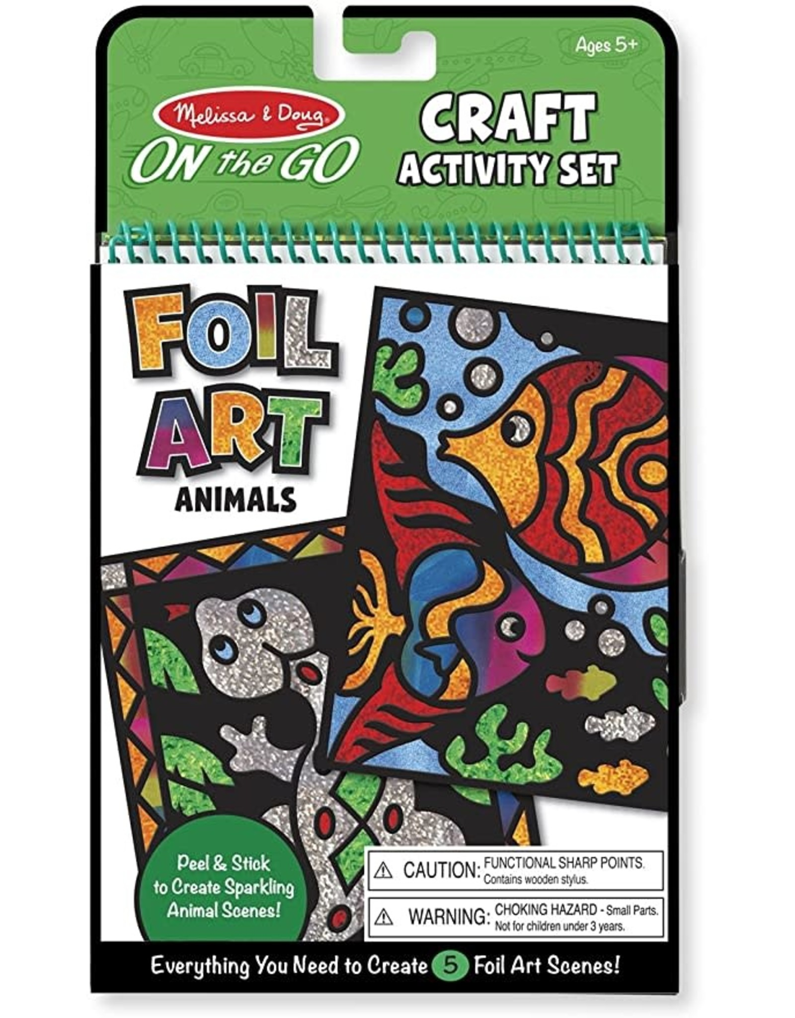 Melissa & Doug M&D - FOIL ART ANIMALS