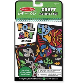 Melissa & Doug M&D - FOIL ART ANIMALS