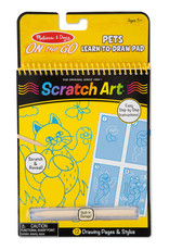 Melissa & Doug M&D - PETS LEARN TO DRAW #9143