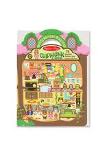 Melissa & Doug M&D - PUFFY STICKER PLAY SET CHIPMUNK HOUSE #9101