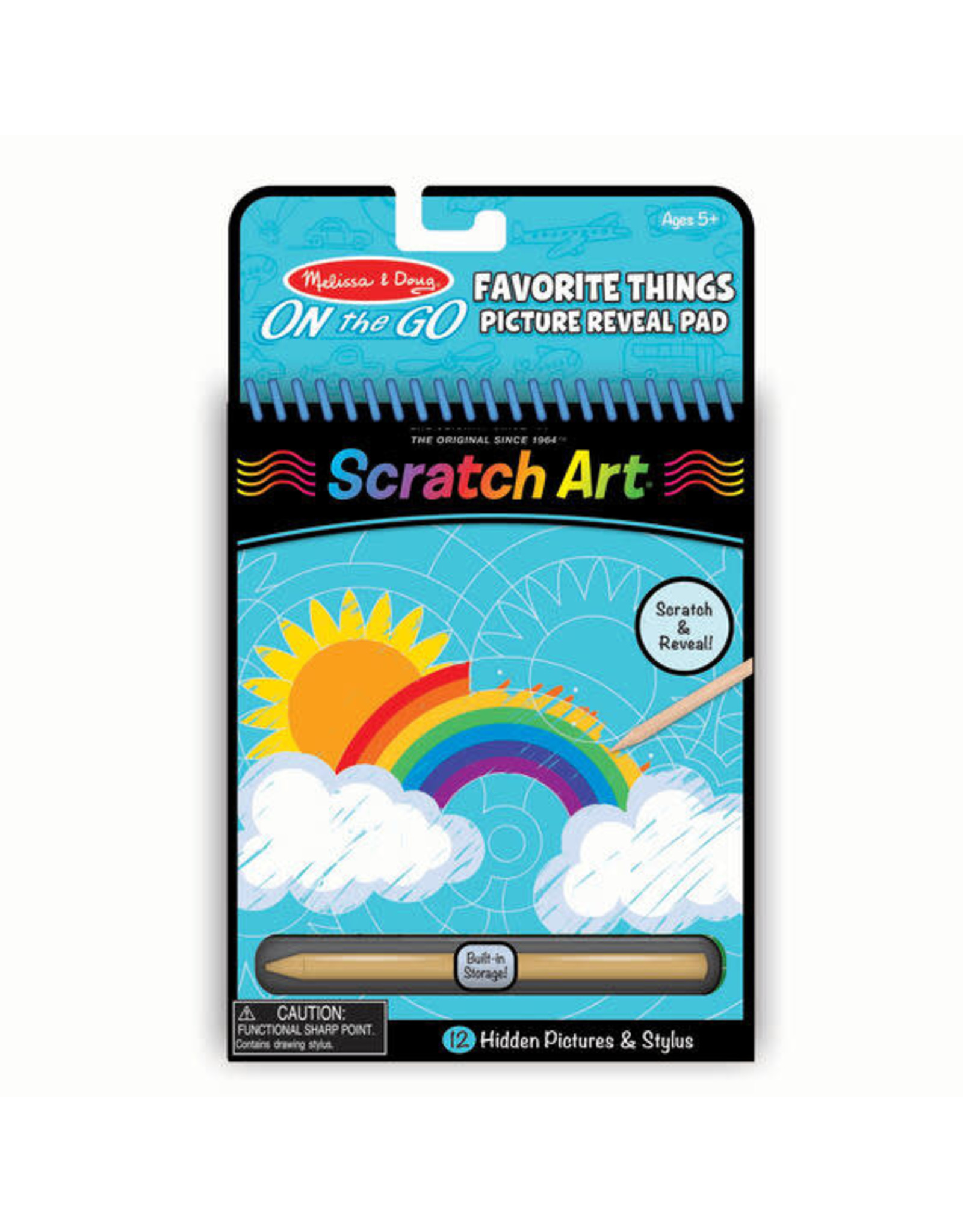 Melissa & Doug M&D - SCRATCH ART #9418