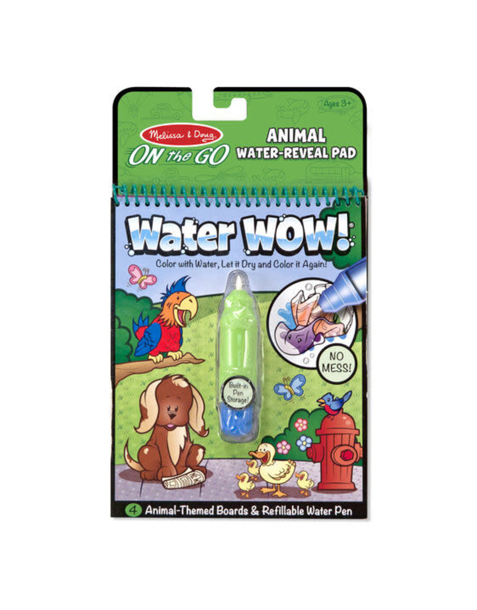 Melissa & Doug M&D - WATER WOW ANIMALS #5376