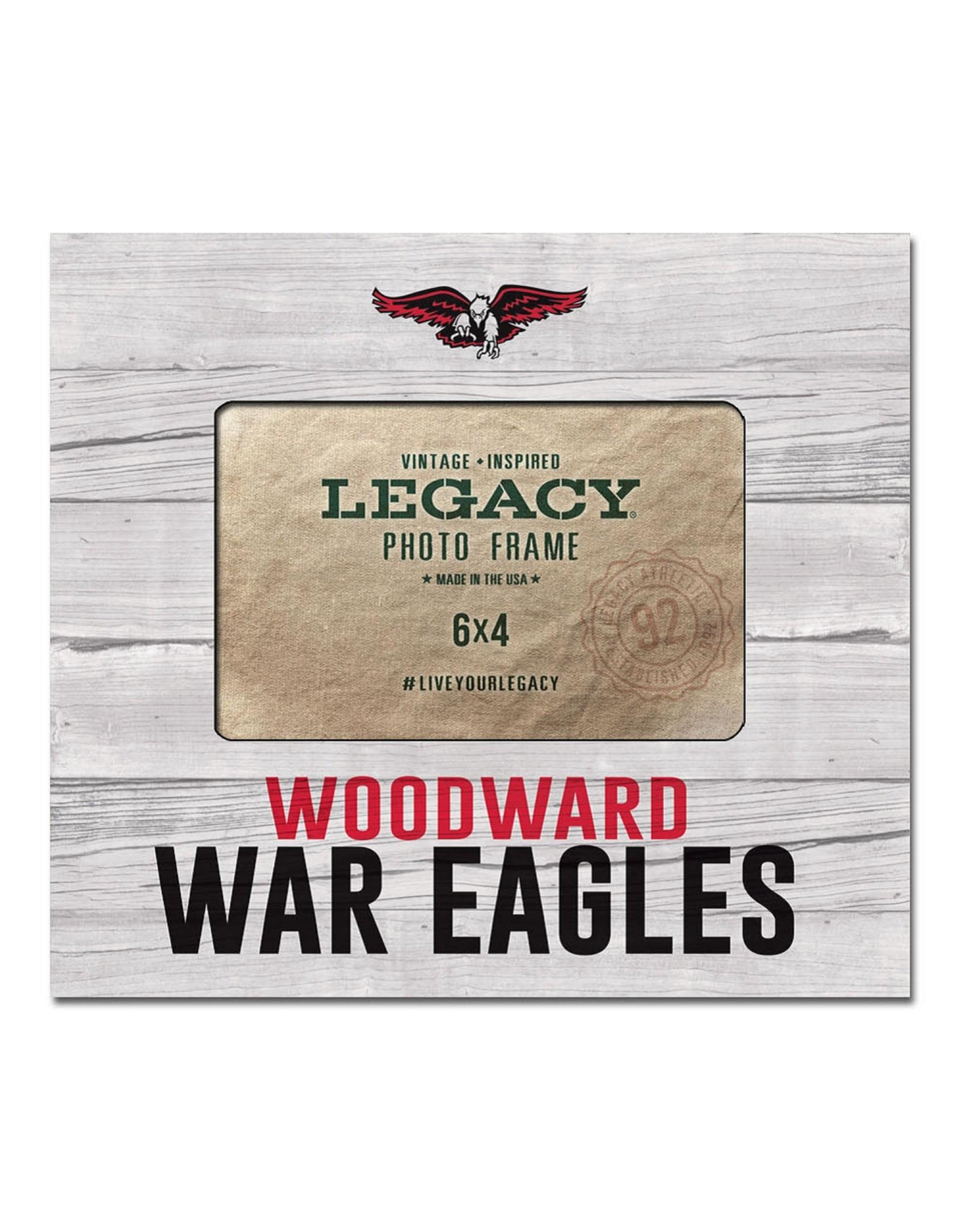 Legacy Frame - WA War Eagles 6x4 White Washed Horizontal by Legacy