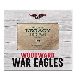 Legacy Frame - WA War Eagles 6x4 White Washed Horizontal