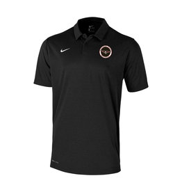 NIKE NIKE DRI-FIT BLACK HEATHER POLO