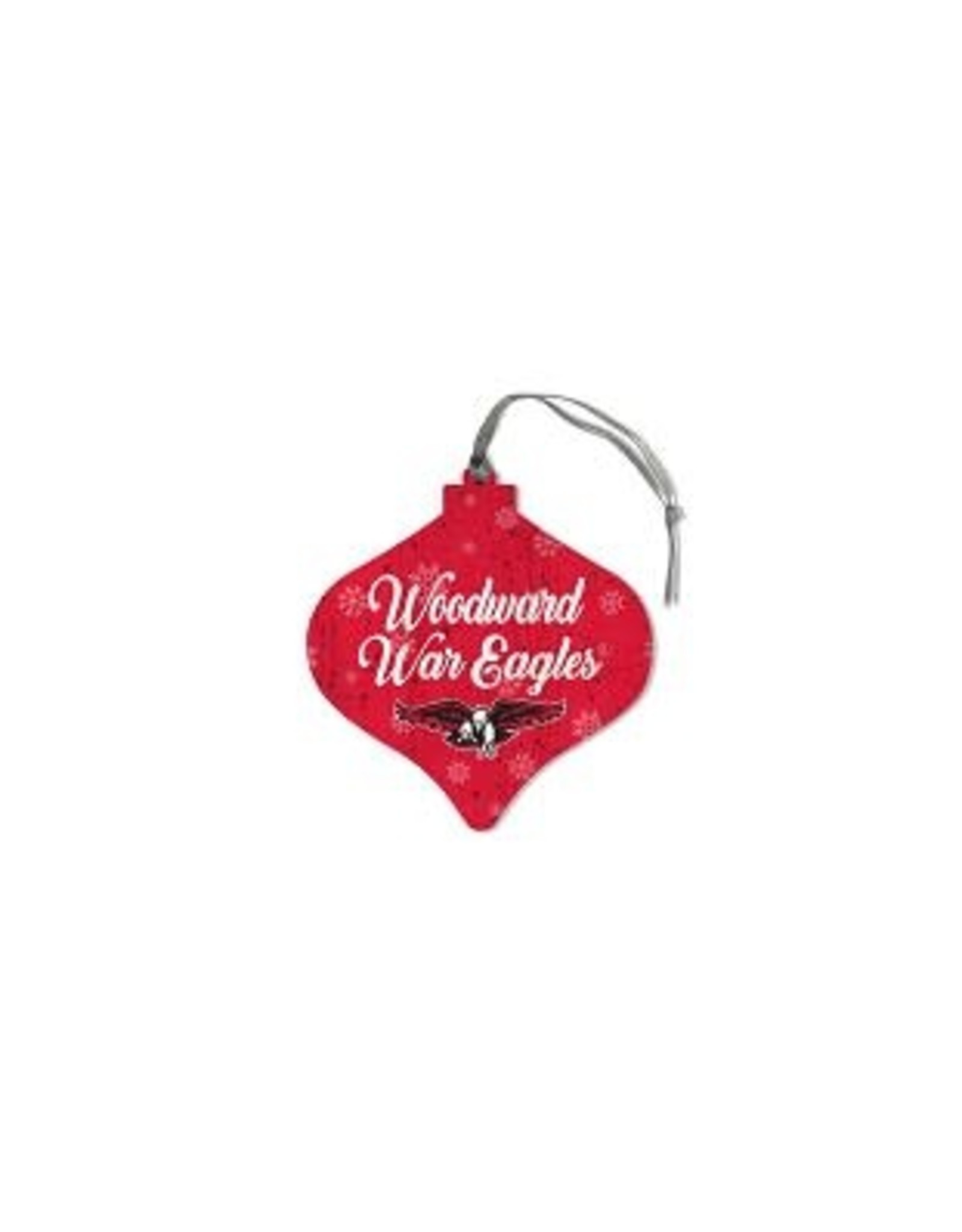 Legacy ORNAMENT LEGACY WOOD RED