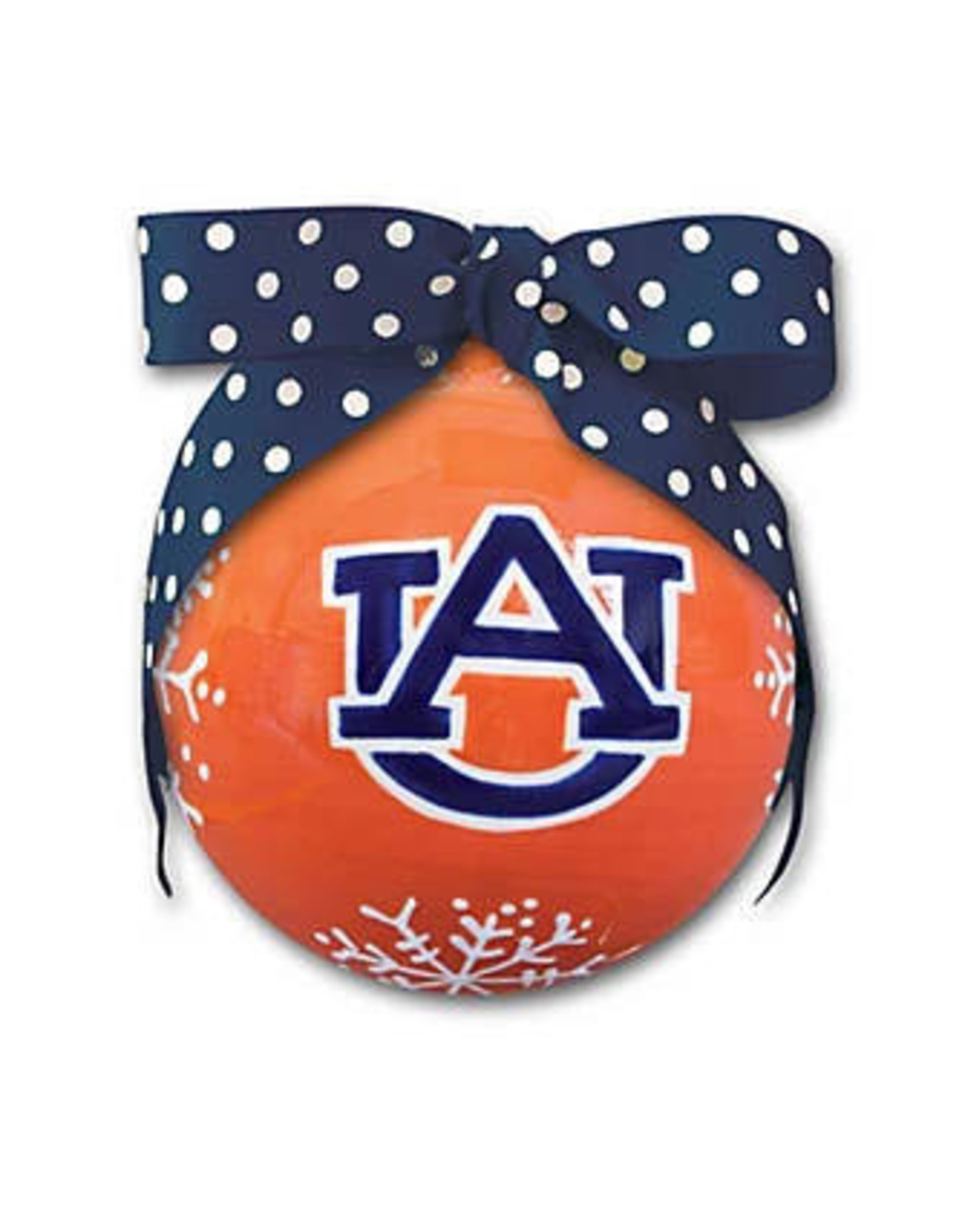 Magnolia Lane ORNAMENT ML AUBURN SNOWFLAKE