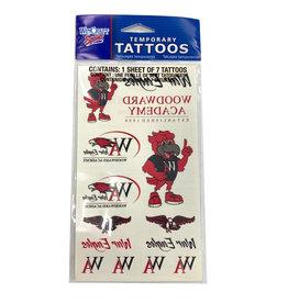 WinCraft Woodward Tattoo Sheet