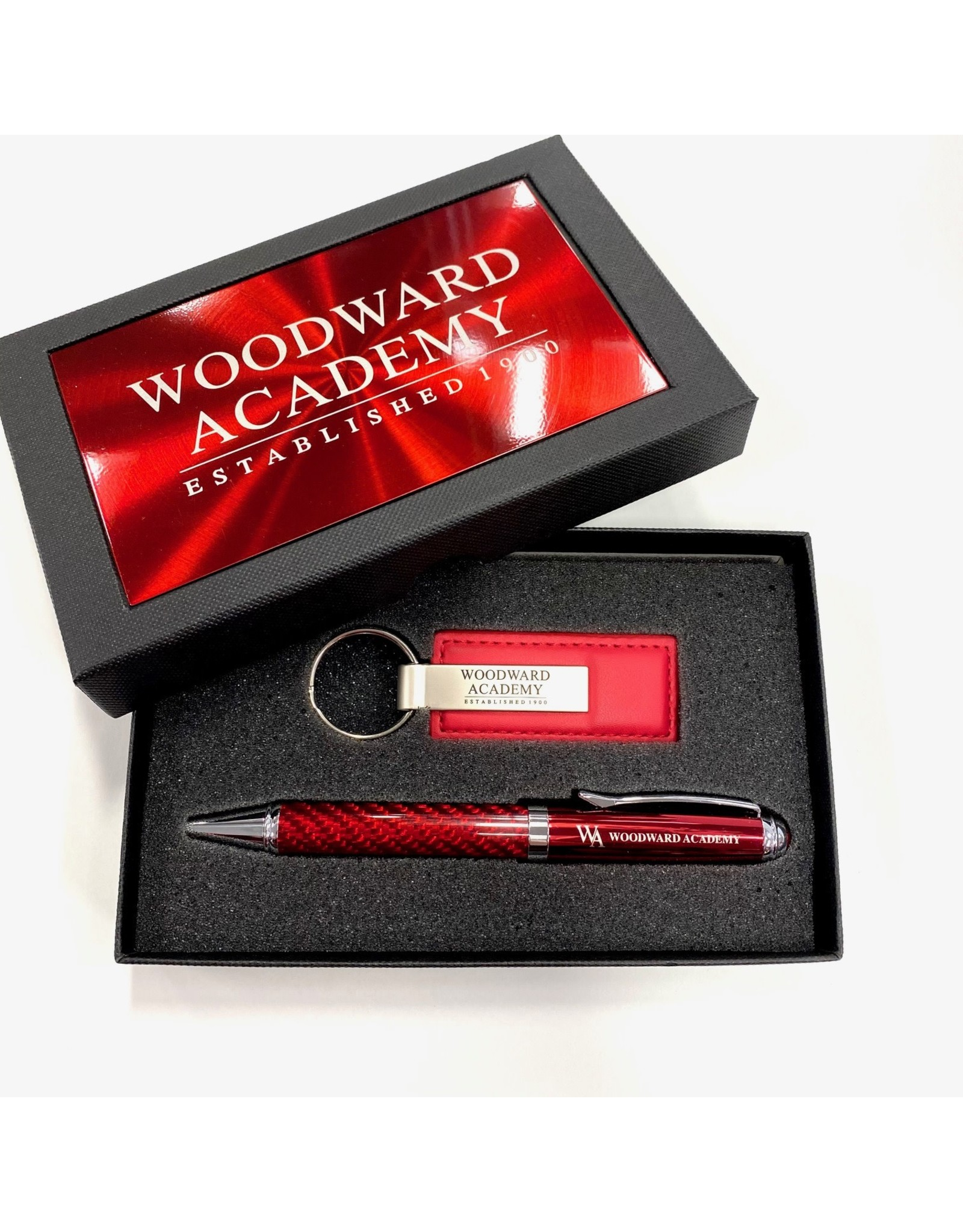 LXG PEN KEY CHAIN LXG GIFT SET RED