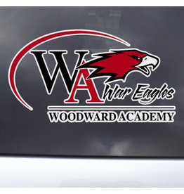 Color Shock Woodward Athletic Logo Decal