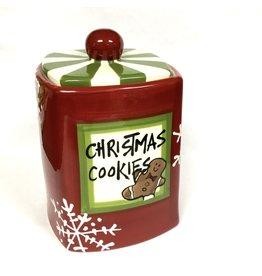 "Cookie Jar ""Merry Christmas"" by Magnolia Lane"