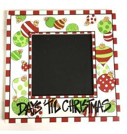 Magnolia Lane Chalkboard Countdown to Christmas