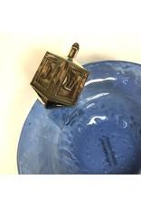 Mud Pie Blue Glass Hanukah Bowl by MudPie