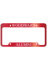 LXG LICENSE PLATE Alumni FRAME BY LXG - RED