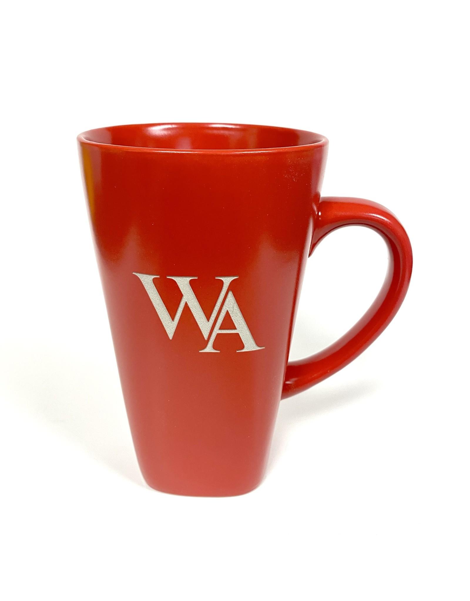 LXG MUG WA Tall Cafe Ceramic Mug